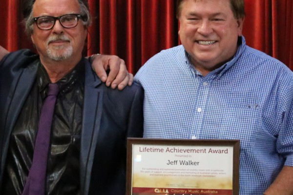 AristoMedia Group CEO, Jeff Walker, Receives Lifetime Achievement Award From CMAA