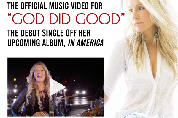 "Dianna Corcoran Releases Official Music Video for Single, ""God Did Good"