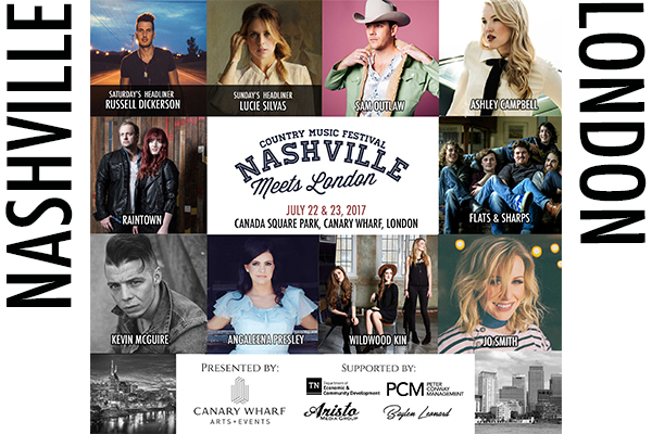 Nashville Meets London 2017 Music Festival Returns with Highly Anticipated Talent Lineup