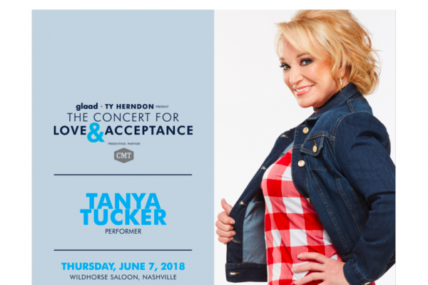 Tanya Tucker Joins Concert for Love and Acceptance Lineup, Set for June 7 at Wildhorse Saloon
