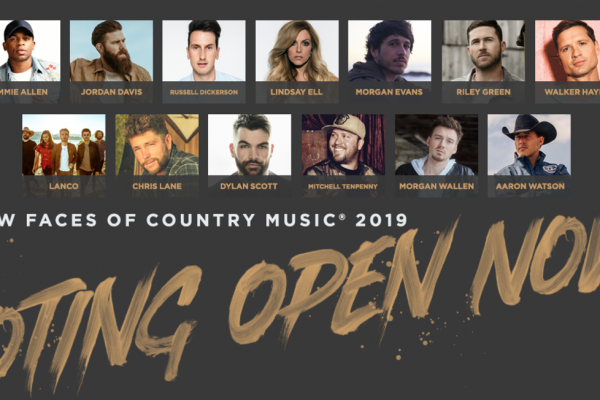 Voting Now Open for CRS New Faces of Country Music® Class of 2019